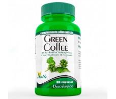 El Valle GREEN COFFEE decaffeinated green coffee 60cap.