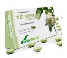 Soria Natural  Green tea 60 tablets.