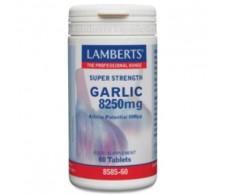 LAMBERTS GARLIC 8250mg. 60comp.