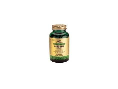 European Solgar Olive Oil leaves. 60 capsules