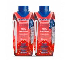 ßi-OralSerum Strawberry flavor 2 X 330 ml.