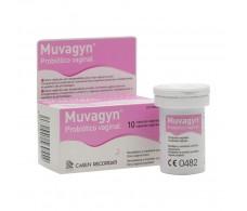 MUVAGYN PROBIOTICO Vaginal, 10 vaginal capsules