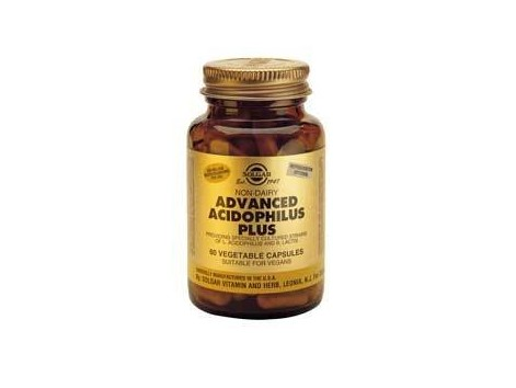 Solgar Advanced Acidophilus Plus 60 vegetarian capsules