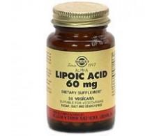 Solgar Alpha Lipoic Acid 60 mg 30 vegetable capsules