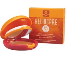 Heliocare Compact Oil-Free SPF50 10gr Brown.