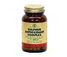Sulfur Solgar Antioxidant Complex 90 caps.