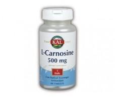KAL L - Carnosine 500 mg. 30 tablets. KAL - Solaray