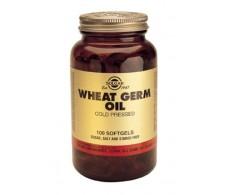 Solgar Wheat Germ Oil. 100 capsules