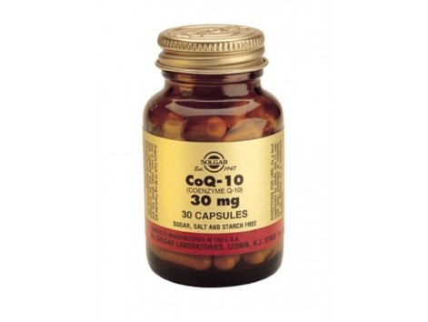 Maxi Solgar Coenzyme Q-10 30mg. 60 capsules