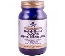 Solgar Nutri-Nano CoQ10 Alpha Lipoic AC 60 pearls