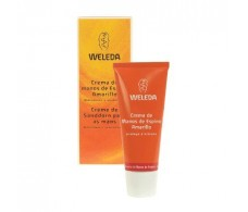 Weleda Hydrating Cream 50ml yellow hands hawthorn