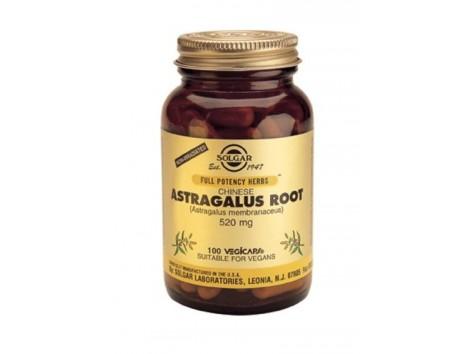 Chinese Solgar Astragalus - Astragalus membranaceus 100 capsules