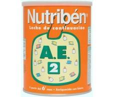 2 Nutriben AE 800gr. Milk antiestreñimiento below.