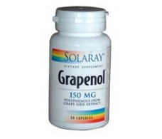 Grapenol Solaray 150mg. 30 capsules Solaray