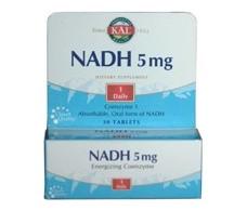 KAL NADH 5mg. 30 tablets. KAL - Solaray