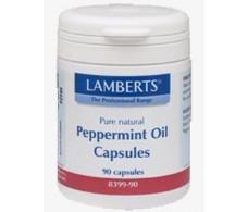 Lamberts Peppermint Oil 50mg. 90 capsules. Lamberts