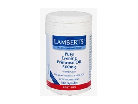 Evening Primrose Oil 500mg. 180 capsules. Lamberts