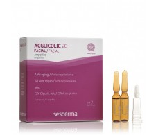 Sesderma Acglicolic 5 und 20 Blisters. 2 ml