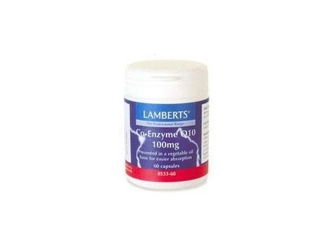 Lamberts Co-Enzyme Q10  100mg. 60 capsules. Lamberts