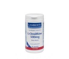 Lamberts L-Ornithine 500mg. 60 capsules