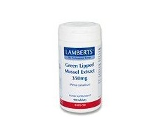 Lamberts Green Lipped Mussel Extract 350mg. 90 Capsules