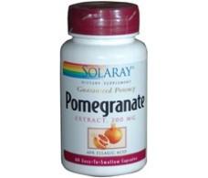 Solaray Pomegranate 200 mg. Solaray. 60 caps Granada