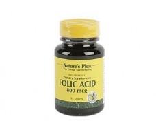 Nature´s Plus Folic Acid 90 tablets. Natures Plus