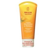 Weleda Shampoo and Shower Gel 200ml Calendula