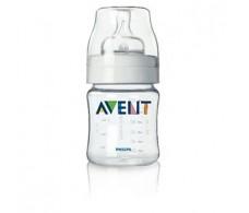 Avent Bottle 125 ml with newborn flow teat