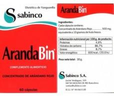 Sabinco Arandabin 60 capsules. Sabinco