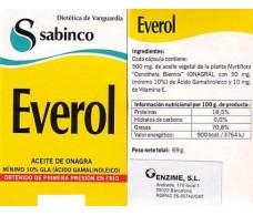 Sabinco Everol 250 capsules. Sabinco