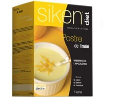 Siken Diet lemon dessert. 7 envelopes