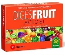 Herbora Digesfruit Acidel 30 capsules. Herbora