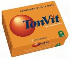 Herbora Ton Vit with probiotics. 15 ampoules. Herbora