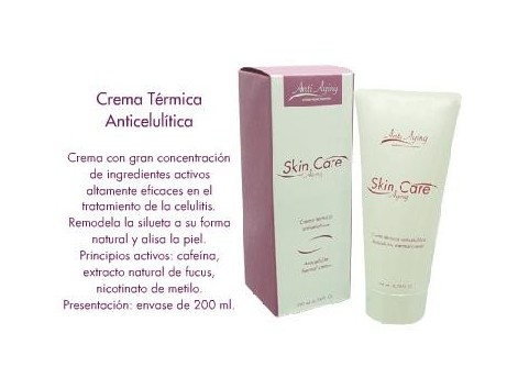 Anti Aging thermal anti-cellulite cream 200ml.