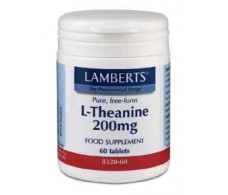 Lamberts L-Theanine 200 mg 60 tablets
