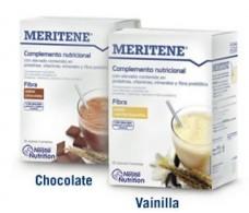 Fiber MERITENE 14 envelopes. Vanilla flavor