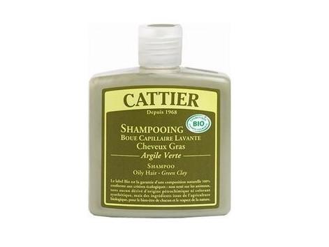 Cattier Clay Hair Shampoo Fatty-green 250 ml.
