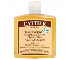 Cattier Greasy hair shampoo with vinegar Romero 250 ml.