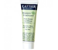 Cattier purifying mask with Tea Tree 75ml.