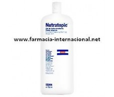 ISDIN Nutratopic emollient bath gel 750ml.