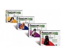 Frontline Combo dogs 2-10kg. 3 pipettes