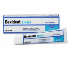 Bexident Gum 75ml toothpaste with Triclosan.