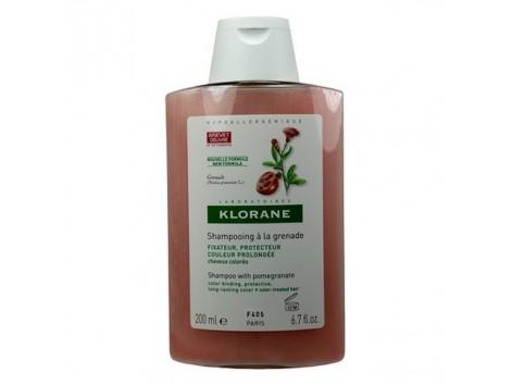 Klorane shampoo sublimer the pomegranate extract 200ml