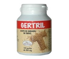 Gertril wheat germ oil 500mg. 125 pearls
