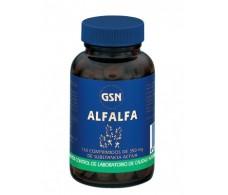 GSN Alfalfa 350mg 150 tablets