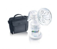 Avent ISIS manual breast pump with pack back to work