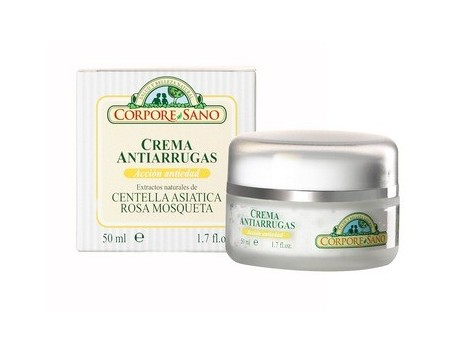 Corpore Sano Anti-Wrinkle Cream Musk Rose Chinese Marigold 50ml.