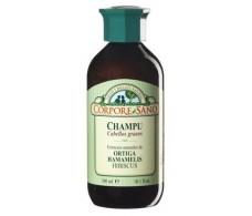 Corpore Sano Shampoo Nettle, Witch Hazel and Lime 300ml