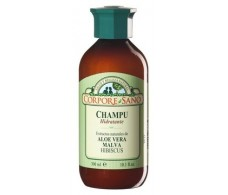Corpore Sano and Malva Shampoo Aloe Vera 300ml